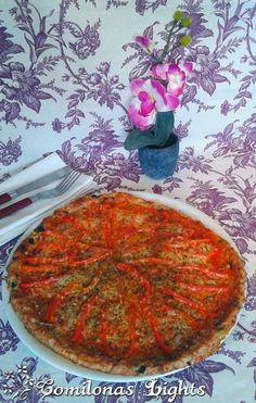 Comilonas Lights: Pizza con base de carne pavo pollo