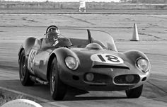 Graham Hill's Ferrari 330 TRI/LM at Sebring 1963| A great shot of Graham Hill in a NART Ferrari 330 TRI/LM at Sebring in 1963.  Hill and co-driver Pedro Rodriguez led the race for 7 out of the first 10 hours much to the consternation of the factory Ferrari team that had two new 250 P's entered.  Their car finished third behind the two factory 250 P's.