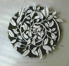 Carlos Meira paper cut art