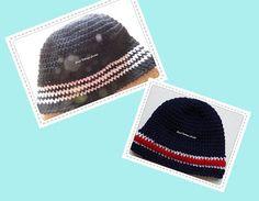 Sweet Nothings Crochet two beanies for boys / men