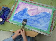 that artist woman: Polar Bears Revisited Winter Art Projects, Winter Crafts For Kids, Art For Kids, Preschool Winter, Preschool Ideas, Snowmen At Night, Arctic Animals, Bear Art, Snowman Crafts