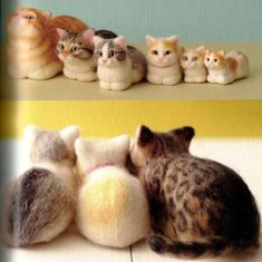 Hey, I found this really awesome Etsy listing at https://www.etsy.com/listing/193921181/needle-felt-realisticcats-japanese-craft