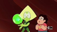 Peridot can bubble! [the kindergarten kid], Steven Universe Greg Universe, Universe Art, Steven Universe Characters, Kawaii, Happy Trails, Peridot, Peace And Love, Anime, Fan Art