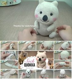 How to Make Quokka Sock Plush