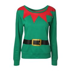 Womens Christmas Sweater (£12) ❤ liked on Polyvore