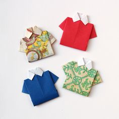 HOW TO FOLD AN ORIGAMI SHIRT