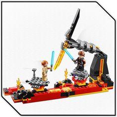 Köp LEGO Star Wars 75269 Duel on Mustafar   Jollyroom Baby Jogger, Anakin Skywalker, Lego Star Wars, Mini, Stars, Lava, Products, Vehicles, Kids
