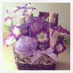 Love Spell Gift Basket by Gifted Occakesions n Baskets