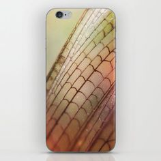 Dragonfly Wing iPhone & iPod Skin by Autum Sasala. Worldwide shipping available at Society6.com. Just one of millions of high quality products available.