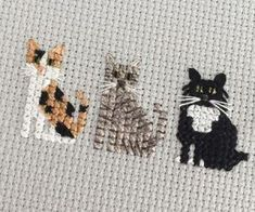 Thrilling Designing Your Own Cross Stitch Embroidery Patterns Ideas. Exhilarating Designing Your Own Cross Stitch Embroidery Patterns Ideas. Cat Cross Stitches, Cross Stitch Bookmarks, Mini Cross Stitch, Cross Stitch Animals, Cross Stitch Charts, Cross Stitch Designs, Cross Stitching, Cross Stitch Patterns, Knitting Stitches