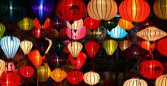 The beauty of lantern in Hoi An, Lanterns are alwa Hoi An, Christmas Lights, Christmas Cards, Chinese New Year 2016, Chinese Lantern Festival, Asian Party, Chinese Party, New Years Eve Decorations, Thinking Day