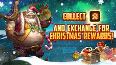 Collected Gingerbread Man during Christmas Event and exchange for exclusive Christmas Rewards! Moba Legends, Gingerbread Man, Christmas, Collection, Yule, Xmas, Christmas Movies, Noel, Natural Christmas