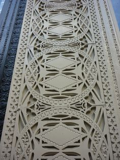 louis sullivan #pattern_architecture #pattern_sculpture #pattern_monumental