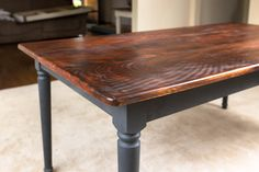 paint stain dining table - Google Search