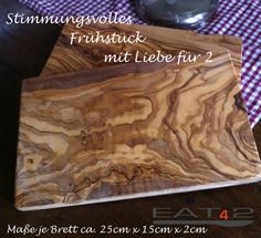 Olive Wood Cutting Board / Wooden Cutting Boards (2 pieces) Olivenholzbrett   $45