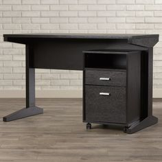 Found it at Wayfair - Servin Computer Desk with File