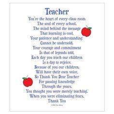 Shop Teacher Thank You Wall Art designed by NikiClixCreations. Teacher Prayer, Message For Teacher, Your Teacher, Teacher Gifts, Student Gifts, Teacher Cards, School Gifts, Teacher Humor, Teacher Stuff