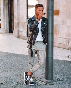 latest mens fashion looks fabulous Latest Mens Fashion, Dope Fashion, Urban Fashion Girls, Fashion Menswear, Fashion Hats, Fashion Ideas, Men Looks, Men Street, Street Wear