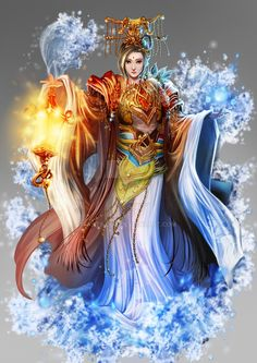 Goddess of sea in China by antilous on DeviantArt