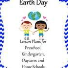 54 pages of new and creative ideas for Earth Day for Preschool, Kindergarten, Daycares and Homeschools.