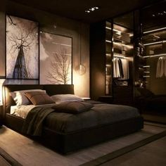 Inspirations Mens Bedroom Ideas - All Bedroom Design Men's Bedroom Design, Simple Bedroom Design, Home Room Design, Bedroom Ideas For Small Rooms Women, Small Room Bedroom, Home Decor Bedroom, Bedroom Rustic, Bedroom Furniture, Bedroom Art