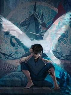 cassieclare1She comes to comfort Julian even if he can't see her... Queen of Air and Darkness art by Quissus. #aveatquevale #shadowhunters #tsc #qoaad #tda