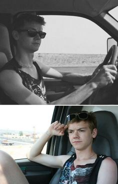 He looks too young to drive :D :'D <3