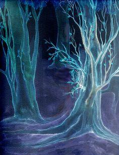 Dark Woods by *RebeccaTripp