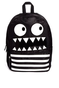 Kind of cool little monster backpack
