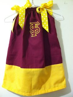 Florida State University Embroidered pillow by CarolinasHopeChest, $25.00