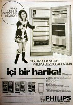 OĞUZ TOPOĞLU : philips buzdolabı 1968 nostaljik eski reklamlar