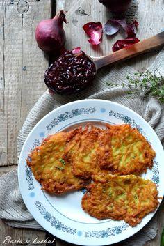 Basia w kuchni: Ziemniaczane placki z tymiankiem i konfiturą z cze...