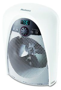 Holmes Electric Space Heater Fan Bath Digital Bathroom with Pre-Heat Timer As Is for sale online