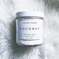 I cannot wait for winter so I can use my Coconut bath soak.