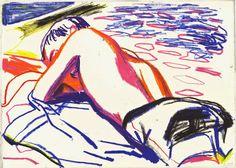 Yann Kebbi Source by illustration Art Inspo, Art Sketches, Art Drawings, Bel Art, Art Du Croquis, Arte Sketchbook, Art Et Illustration, Pretty Art, Graphic