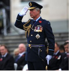 Prince Charles, Prince of Wales attends an Armistice Day commemoration service in Auckland