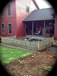 beautiful primitive decorated space ~ ... | Porches & Outdoor Enterta ...
