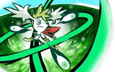 Shaymin | Seed Flare by ishmam.deviantart.com on @deviantART