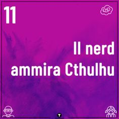 Le nostre 20 cose molto nerd  #troppotogo #nerd #nerdlife #geek Cthulhu, Nerd, Geek Stuff, Geek Things, Geek
