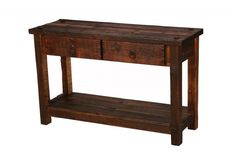 Rustic Table Sofa Table Living Room Furniture Reclaimed