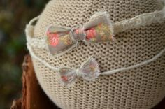 The MINI Mary Poppins Vintage Inspired Bow by JustHatchedDesigns