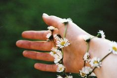 Number 16.  Make a daisy chain.