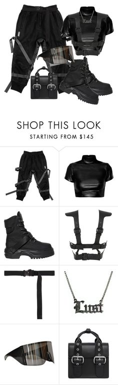 """Untitled #502"" by youraveragestyle ❤ liked on Polyvore featuring Puma, Fleet Ilya, Alyx, Hoolala, Rick Owens and Vivienne Westwood"