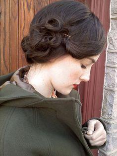 retro hair ~ Beautiful!