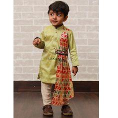 Kids Indian Wear, Kids Ethnic Wear, Baby Boy Ethnic Wear, Baby Boy Dress, Baby Boy Outfits, Kids Outfits, Kids Dress Wear, Dresses Kids Girl, Traditional Dress For Boy