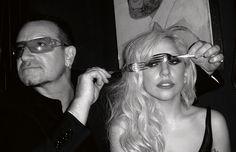 Gaga and Bono