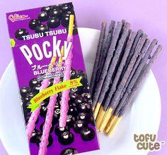 Glico Pocky Tsubu Tsubu - Blueberry