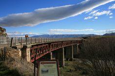 images of rail trails   Otago Central Rail Trail. Photo: J Edginton.