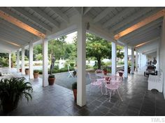 Interior, auto-courtyard, inspired by William Wurster's Gregory Ranch.
