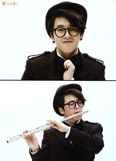 No way! I play flute!!! Ahhh epic fangirl moment!!!!